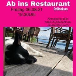 Ab ins Restaurant